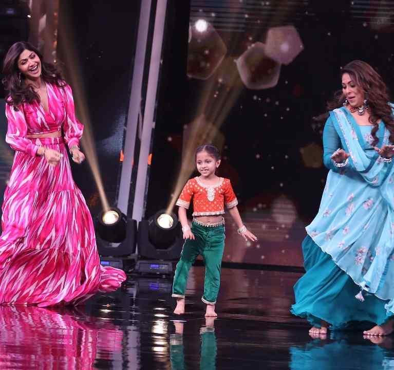 shilpa shetty in super dancer chapter 4