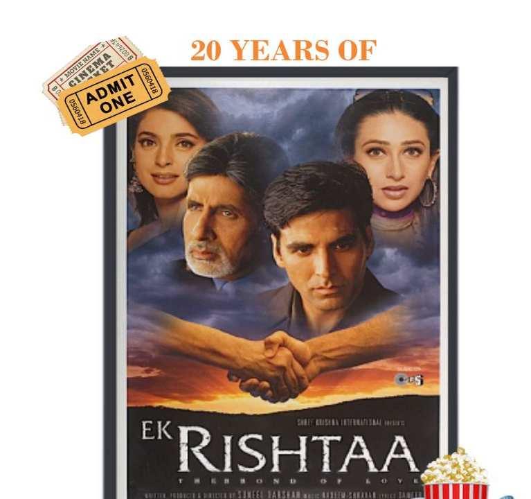 20 years of ek rishtaa