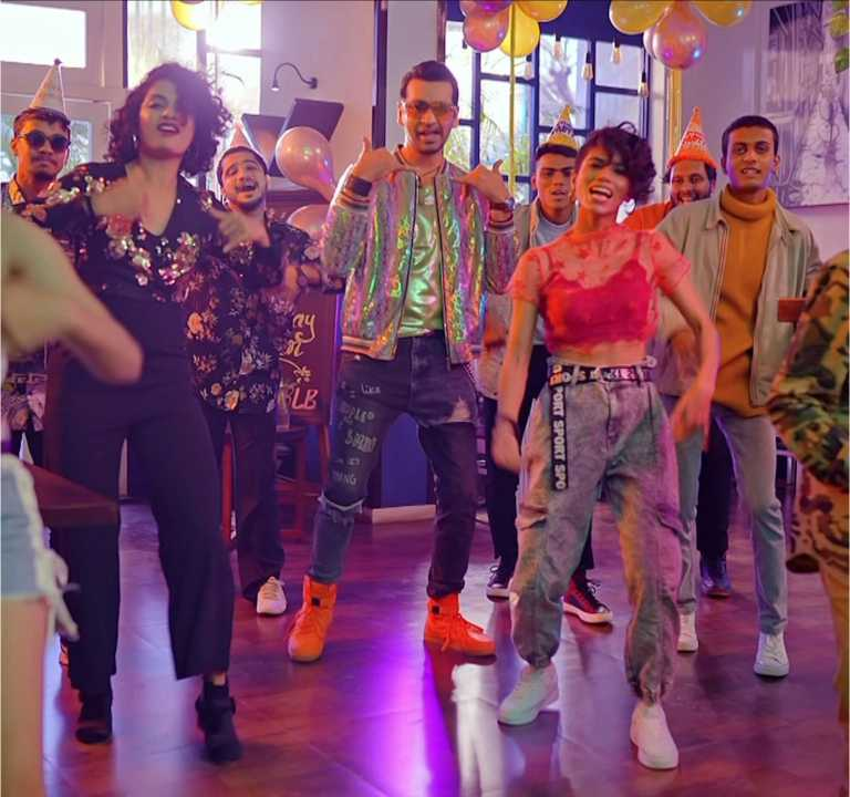 SpotlampE launched a peppy Marathi dance track 'Party La'