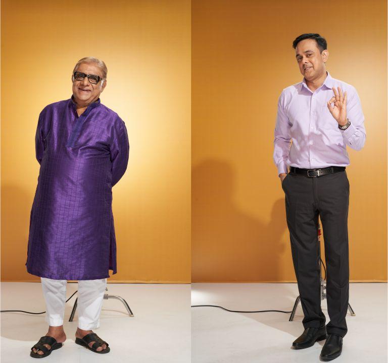 """He is like a real son to me"", says Aanjjan Srivastav on his bond with Sumeet Raghavan"