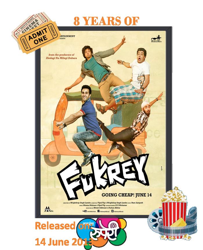 8 years of Fukrey