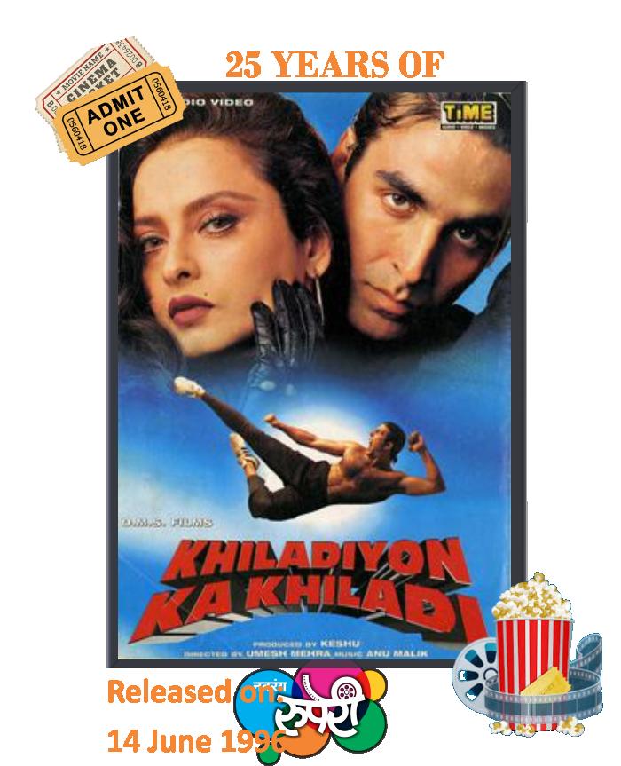 25 years of Khiladiyon Ka Khiladi