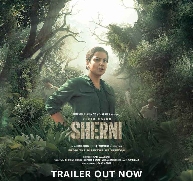 Amazon Prime Video released the trailer of Vidya Balan's Sherni